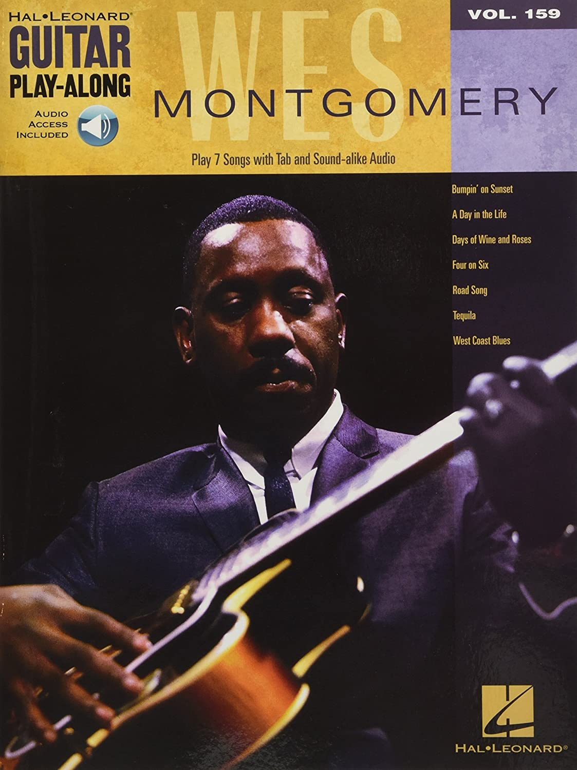 Wes Montgomery Guitare +Enregistrements Online (Guitar Play-along ...