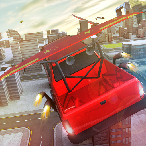 Free Limo Flying car Games product image