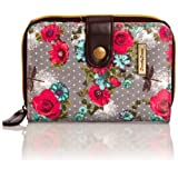 SWANKYSWANS Girls Hayley Dragonfly and Rose Print Small Wallet