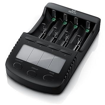 Cargador de Pilas Rapido - Estación de Carga de batería ...