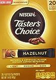 Nescafe Taster Choice Hazelnut Coffee 20 Single Serve Packets