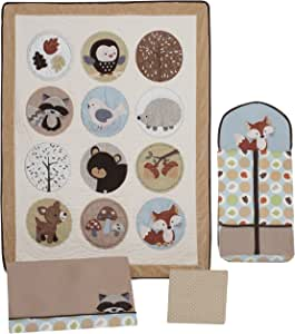 Carter S Forest Friends 4 Piece Crib Bedding Set 4 Pack