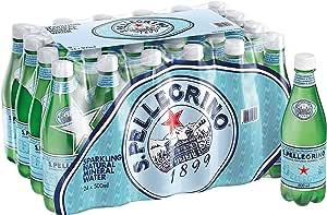 Sanpellegrino sparkling mineral water, 24 x 500ml
