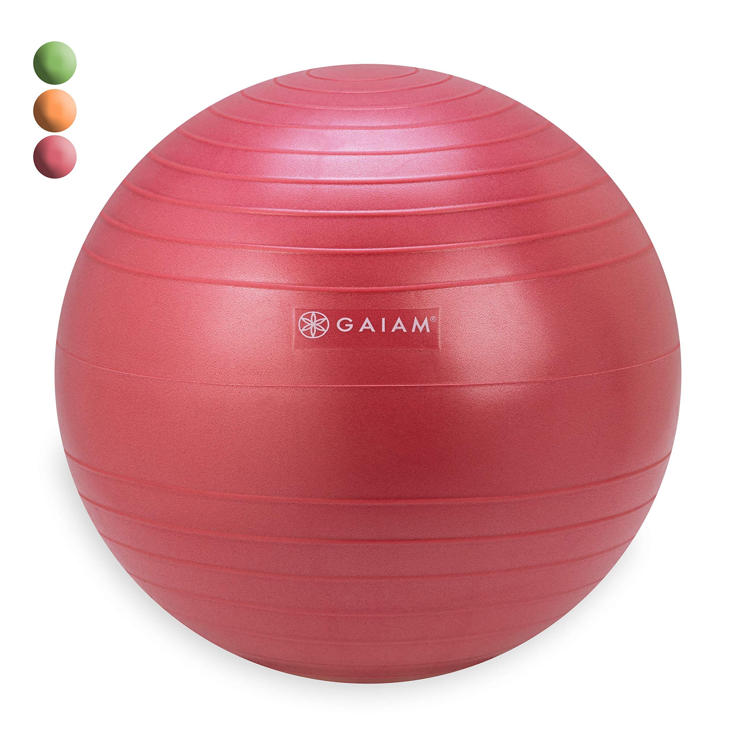 Gaiam Kids Balance Ball Chair Ball - Extra Balance Ball for Kids Balance Ball Chair, Pink, 38cm