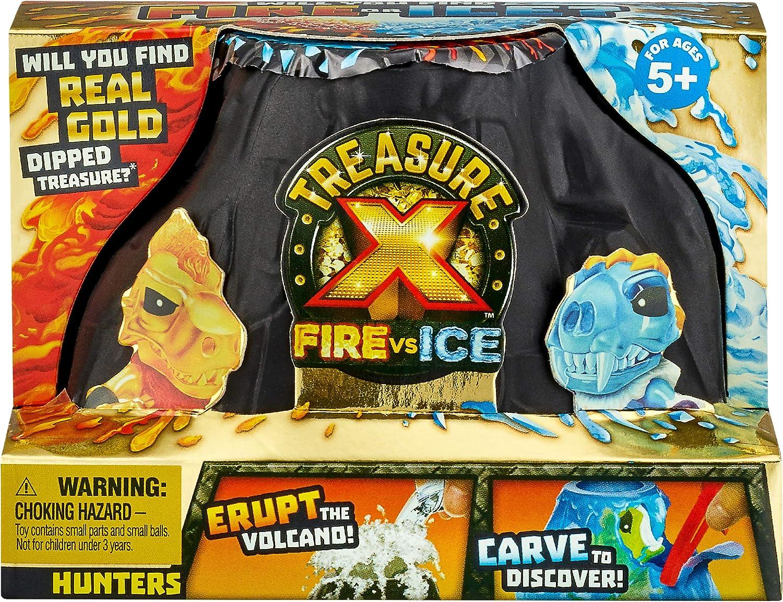 Treasure X 41606 Fire Vs Ice Hunters Paquete único de estilos ...