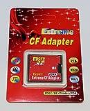 マイクロSDカードをCFカードに変換(TypeⅠ)2TBまで対応