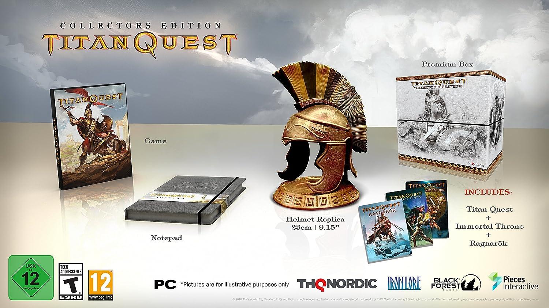 Amazon com: Titan Quest: Collector's Edition - PC: Video Games