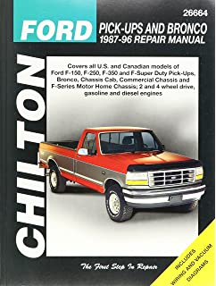 Chiltons ford pick ups and bronco 1987 96 repair manual chiltons chilton total car care ford pick ups bronco 87 96 26664 freerunsca Images