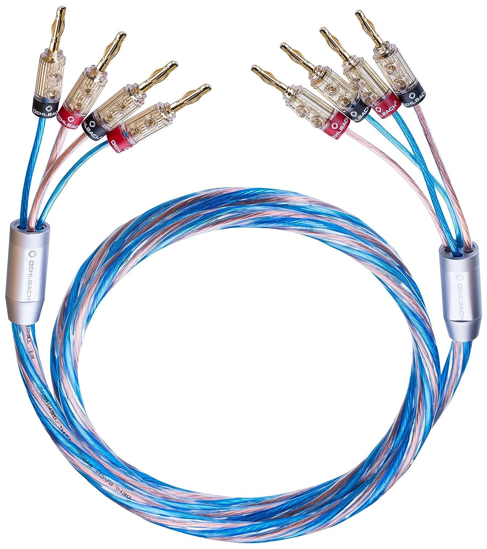 Oehlbach Bi Tech 4.4B 500 | Lautsprecherkabel-Set: Amazon.de: Elektronik