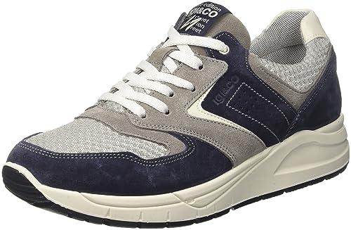 IGI&CO USL 11225, Sneaker Uomo, Grigio (Asfalto), 41 EU