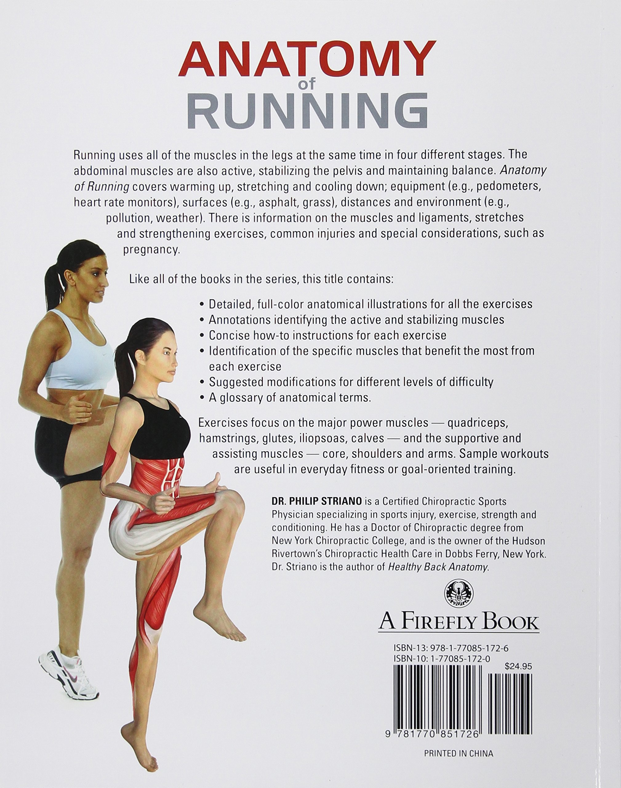Anatomy Of Running A Trainers Guide To Running Philip Striano Dc