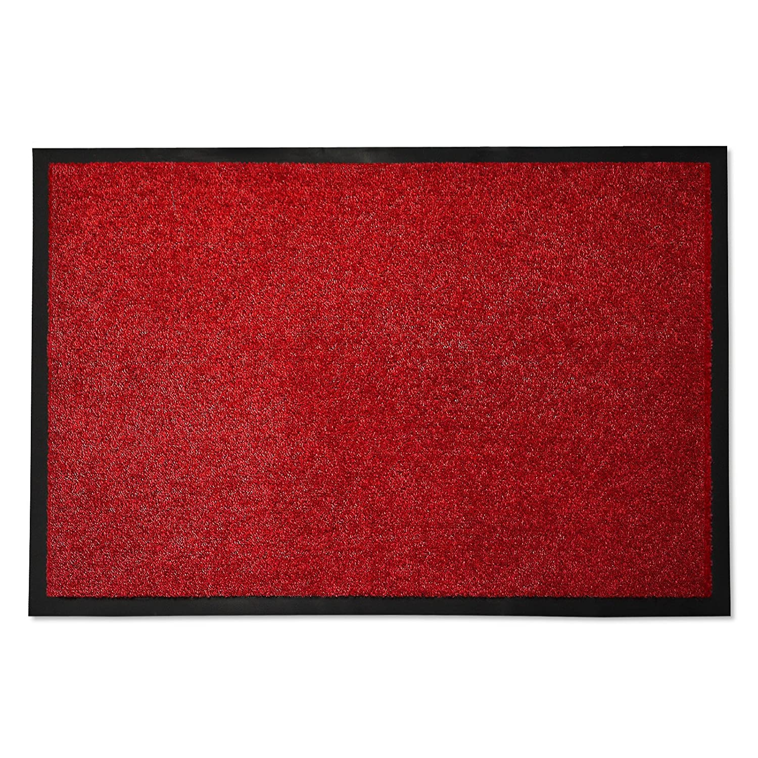 casa pura Dirt Trapper Entrance Mat | Non Slip | 8 Red - 40x60cm Others