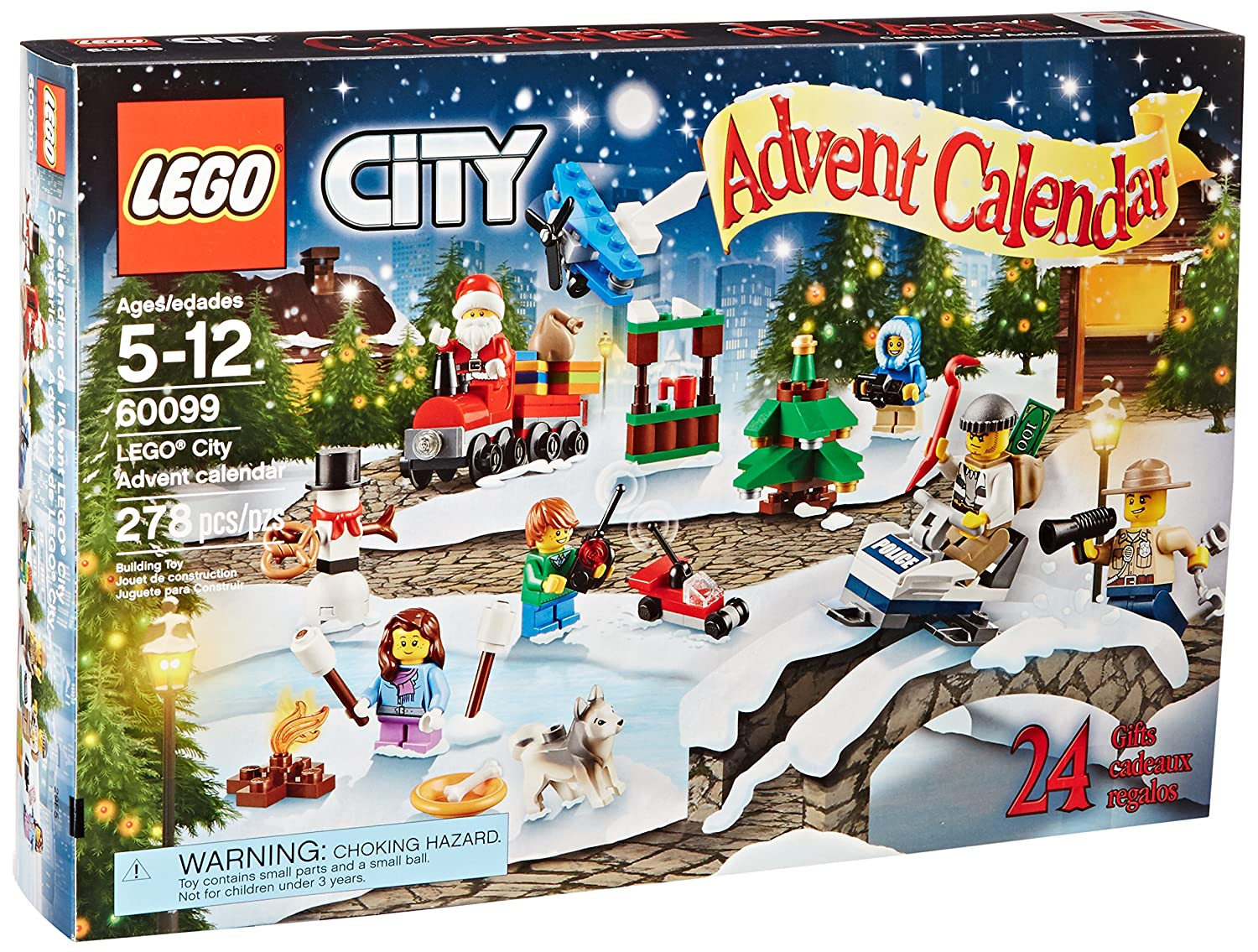 LEGO City Town 60099 Advent Calendar Building Kit(Discontinued by manufacturer) by LEGO 6100393