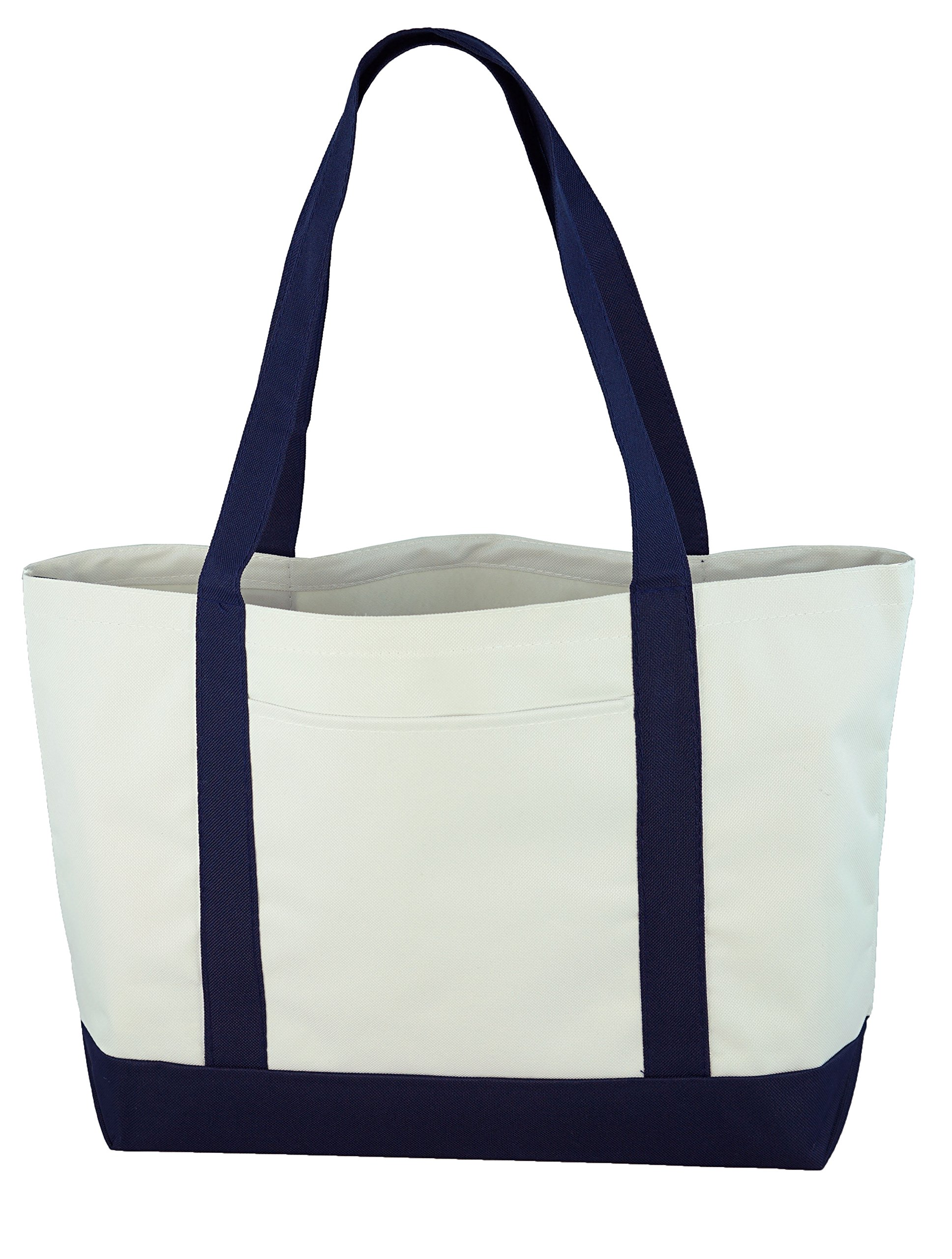 Daily Tote (White/Navy) by Ensign Peak (Image #2)