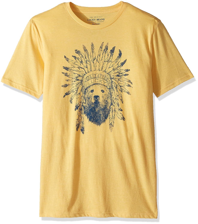 Lucky Brand Boys Short Sleeve Graphic Tee Shirt