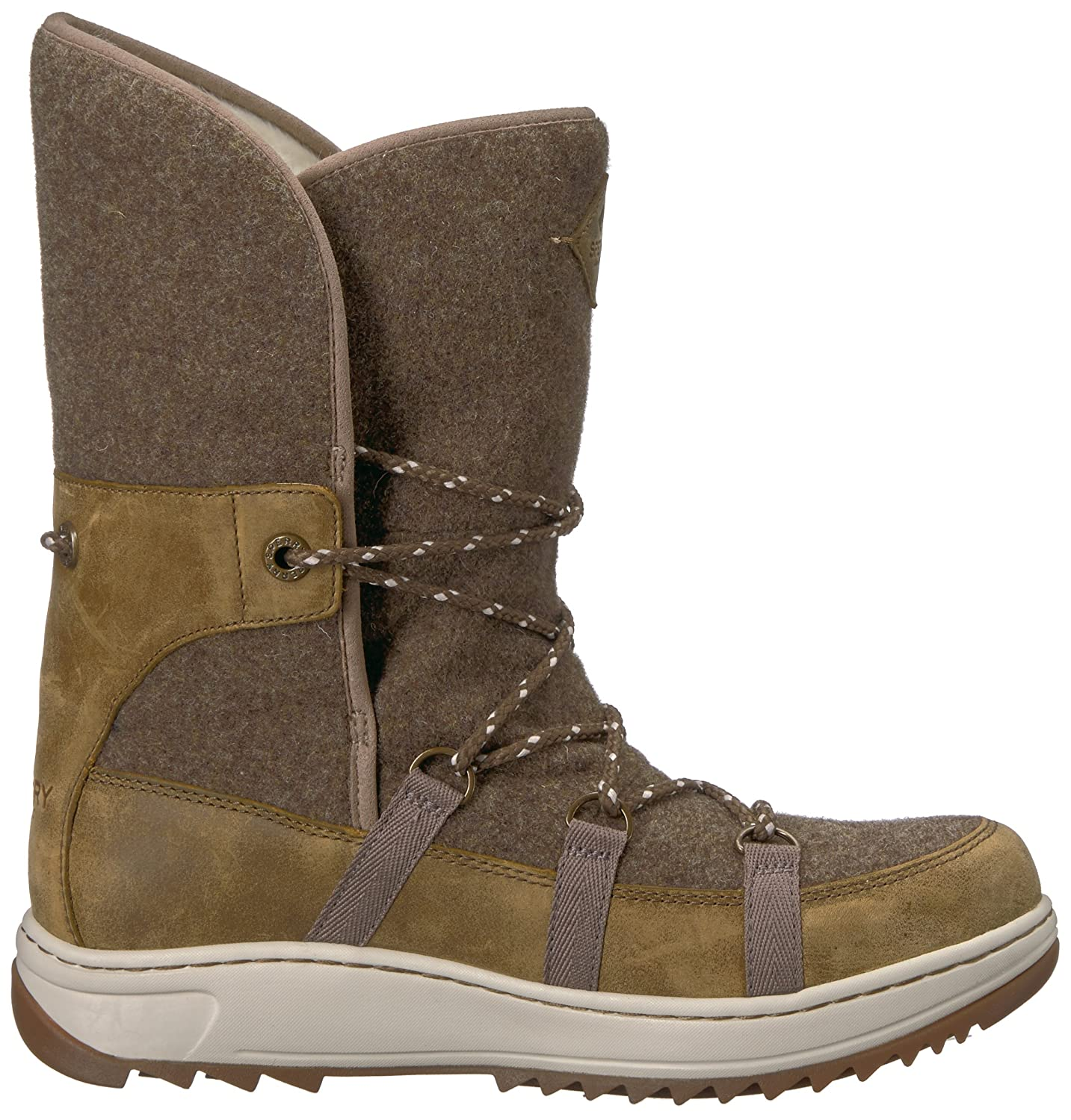 Sperry Cap Top-Sider Women's Powder Ice Cap Sperry Snow Boot B01N6IYWW4 5 B(M) US|Olive e5abae