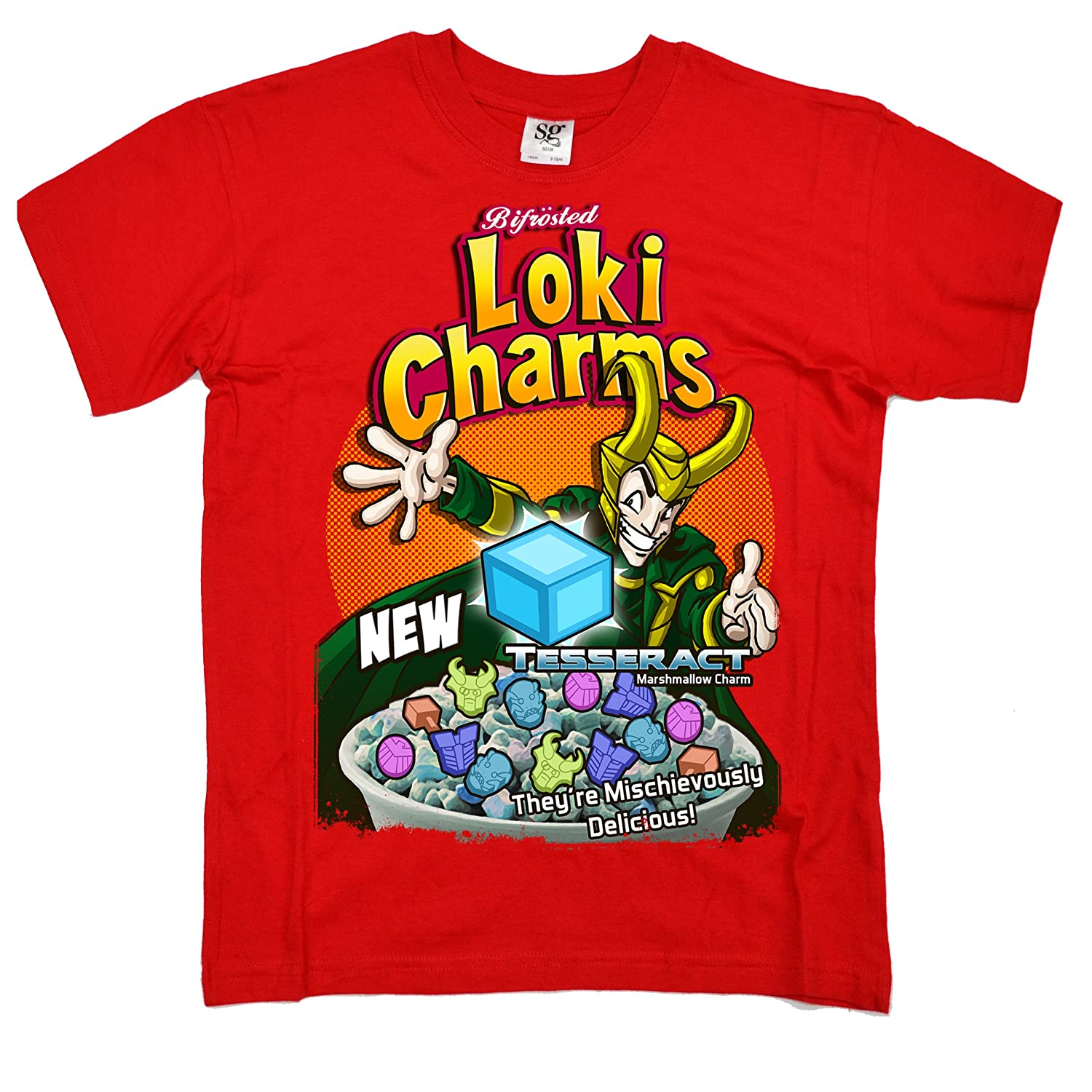 Stooble Boys Bifrosted Loki Charms T-Shirt