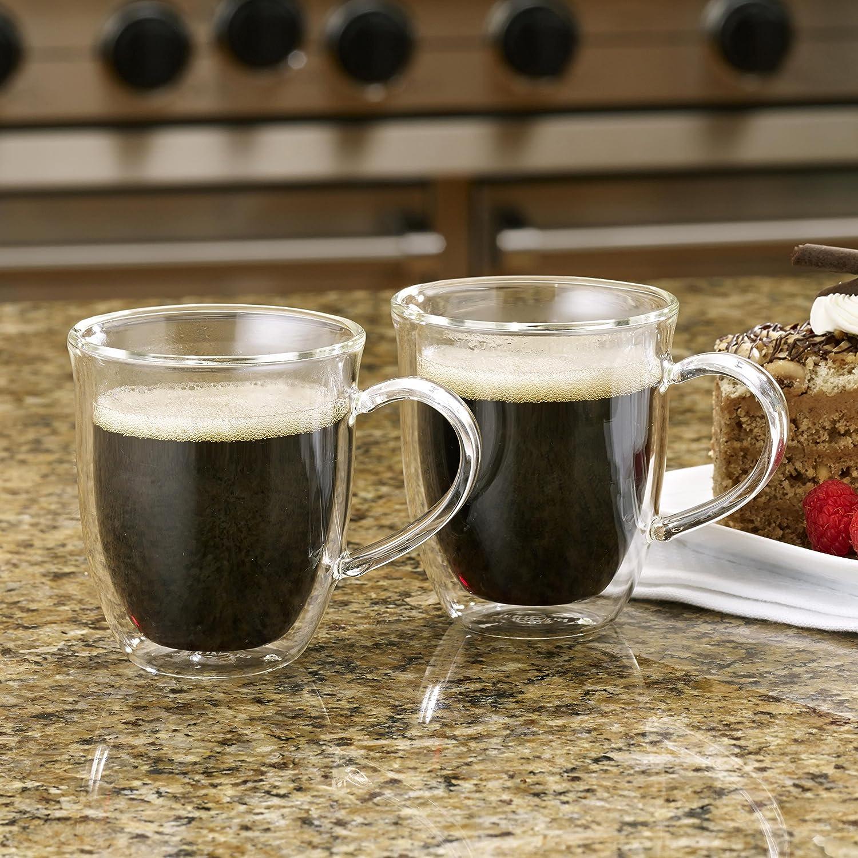 6-Ounce Glass BonJour 51283 Espresso Cups