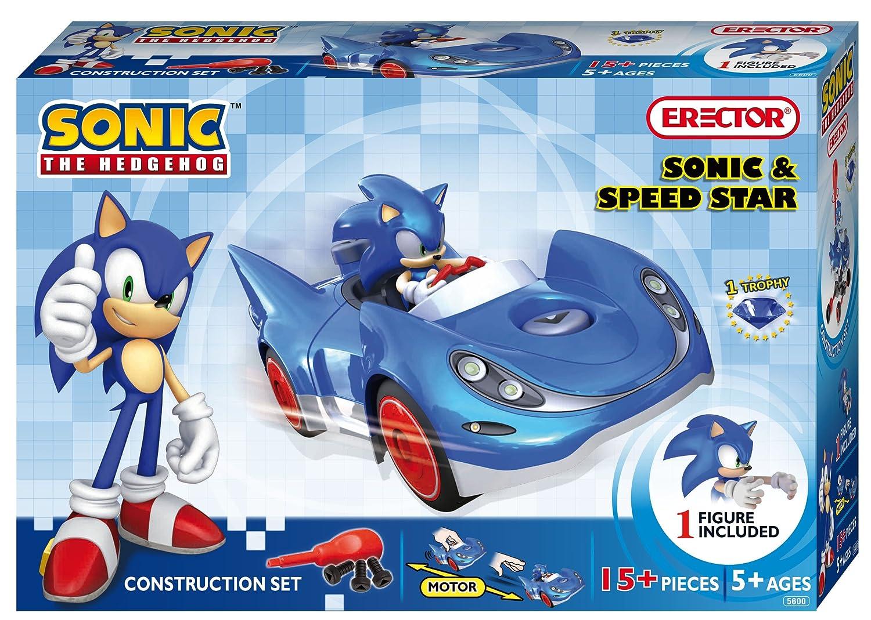 Amazoncom Erector Sonic The Hedgehog Sonic and Speed Star