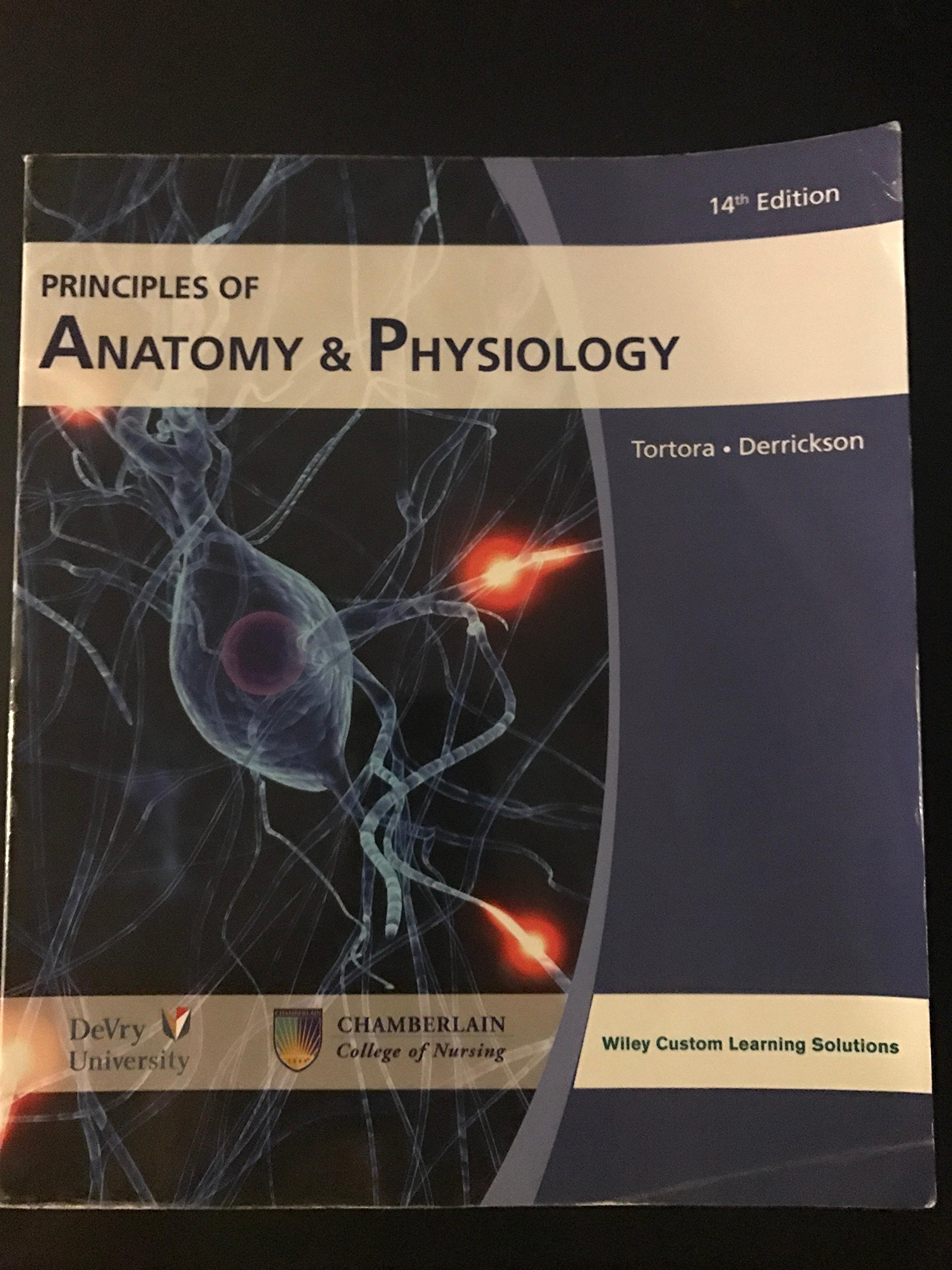 Principles of Anatomy & Physiology 14th edition: Bryan Derrickson ...