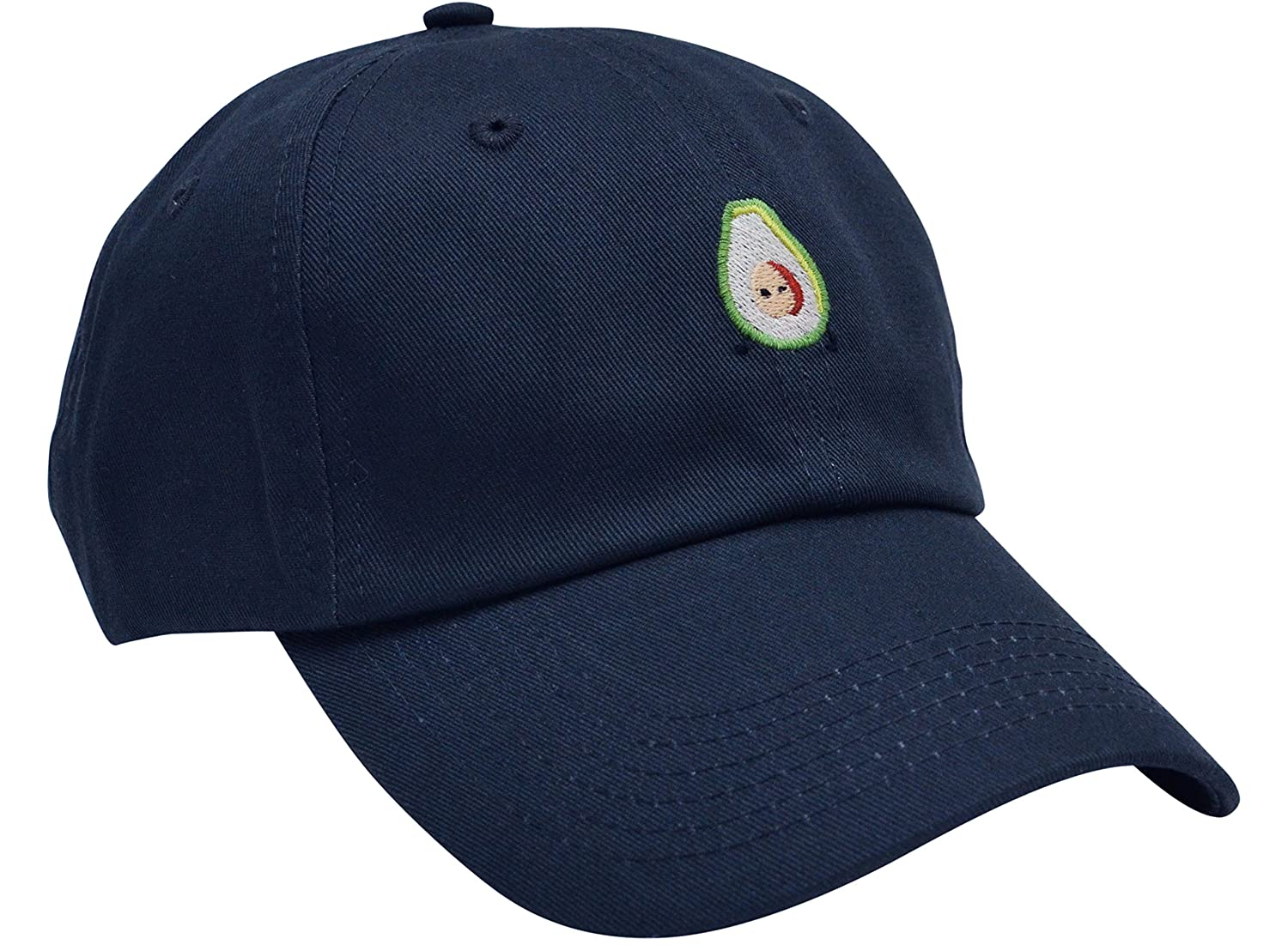 Avocado Designer Embroidery. Lightweight and Durable – Perfect Holiday  Gift! 6 Panel Crown. Low Profile and Unstructured. Hand Wash   Spot Clean  Adjustable ... 38db39947f93
