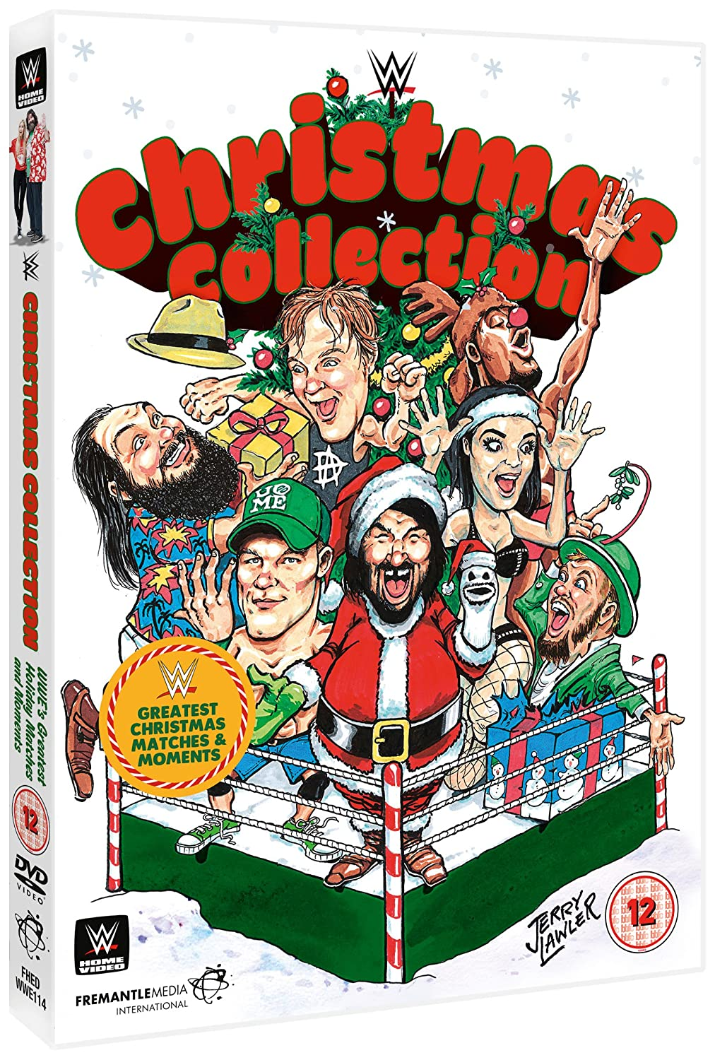 WWE: Christmas Collection [DVD]: Amazon.co.uk: John Cena, Mick Foley ...