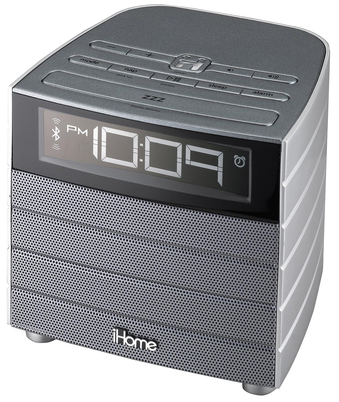 iHome Portable Radio Black/Silver - Portable radio clock