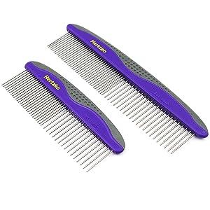 Hertzko 2 Pack Pet Combs