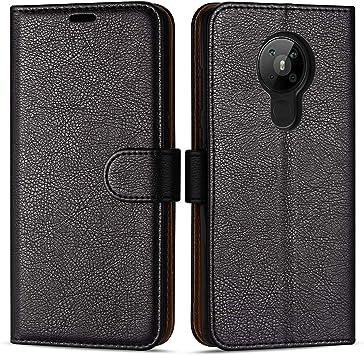 Case Collection Funda de Cuero para Nokia 5.3 (6,55
