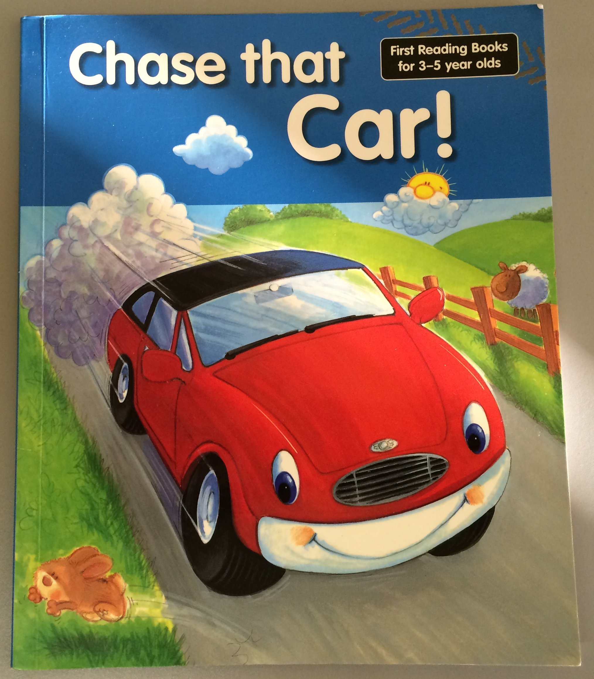 Chase that Car! (First Reading Books for 3-5 Year Olds) PDF