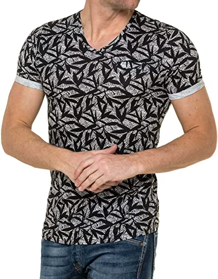 American People - T-Shirt Homme col V imprimé