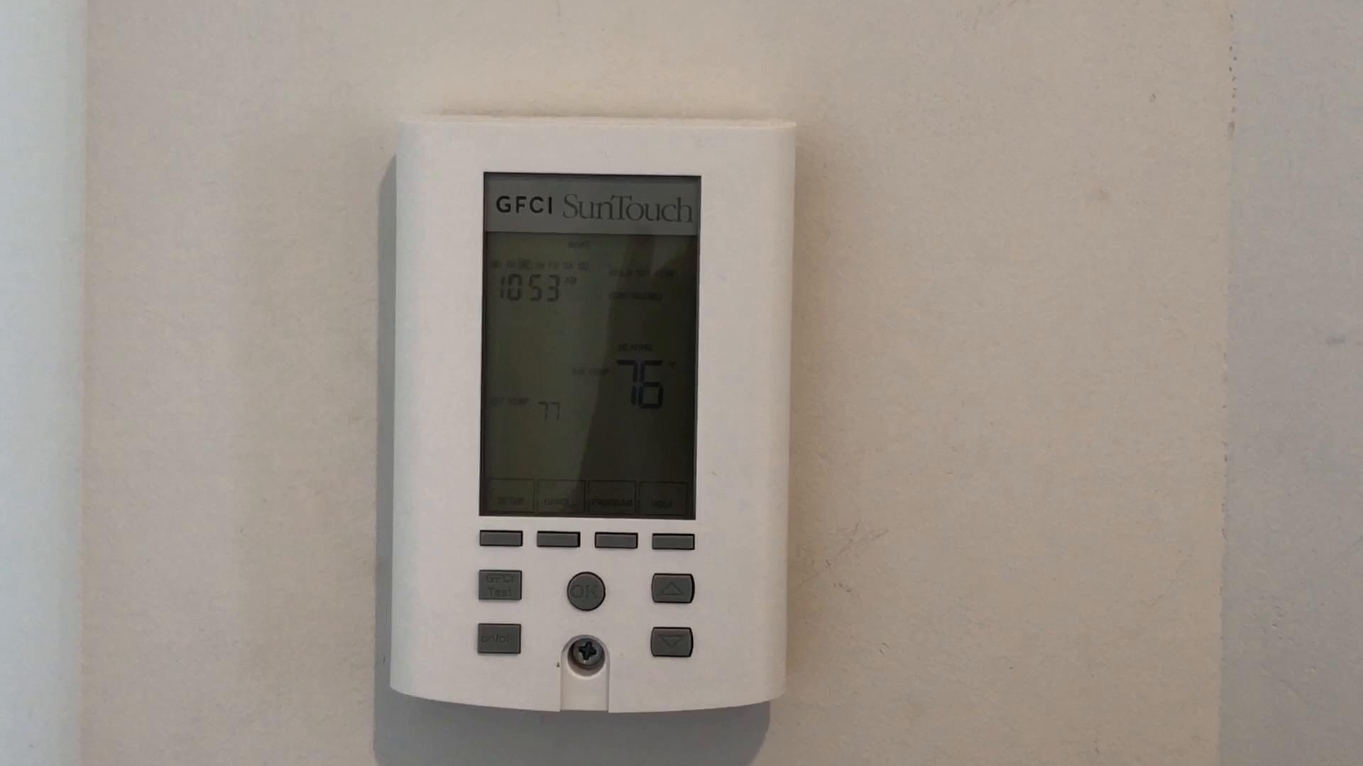 No More Error 7 On Suntouch Thermostat