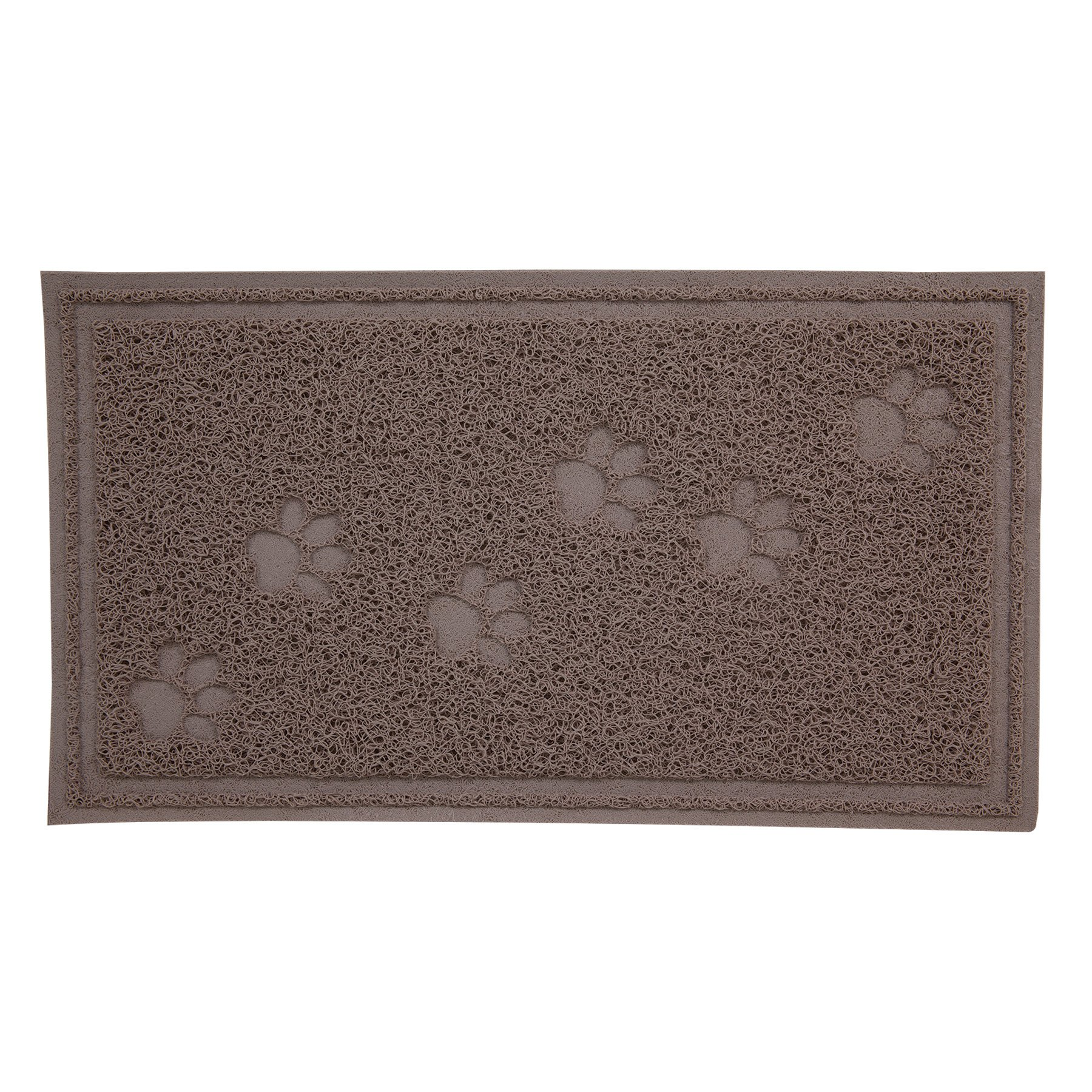 Petmate Arm & Hammer Litter Mat with Paw Design, 23 by 13-Inch