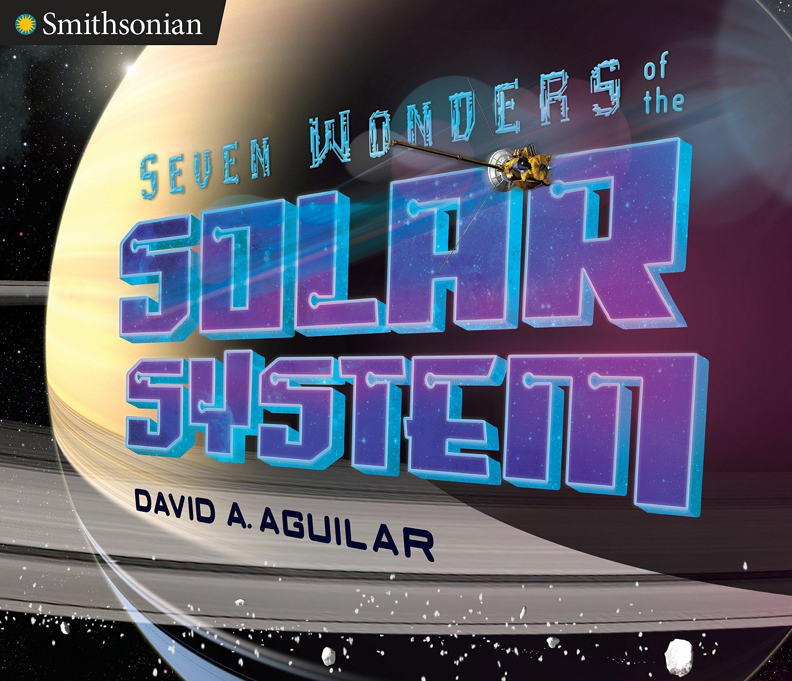 Image result for seven wonders solar system book