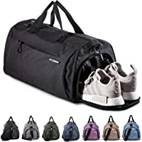 Fitgriff® Sports Gym Bag for Men and Women - with Shoe Compartment & Wet Pocket - Fitness Bag 48cm x 26cm x 25cm [30…