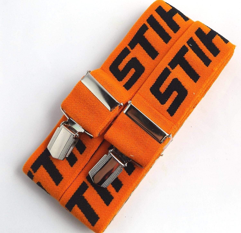 Stihl –  Bretelle per i pantaloni con pinze metallici