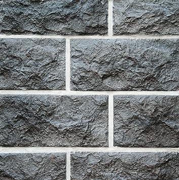 SAMPLE Manufactured Stone Veneer Odyssee Charcoal Brown