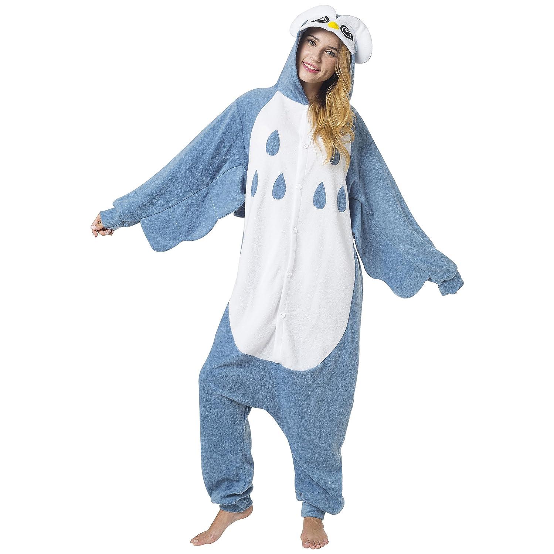 Katara - Disfraz Animal Pijama Una Pieza Adultos, Color Búho Talla 175-185cm (XL): Amazon.es: Juguetes y juegos