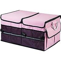 TurboBoost Car Organizer - Storage Bag,car Trunk Organiser,Durable Storage SUV Cargo Organiser Adjustable, Tidy…