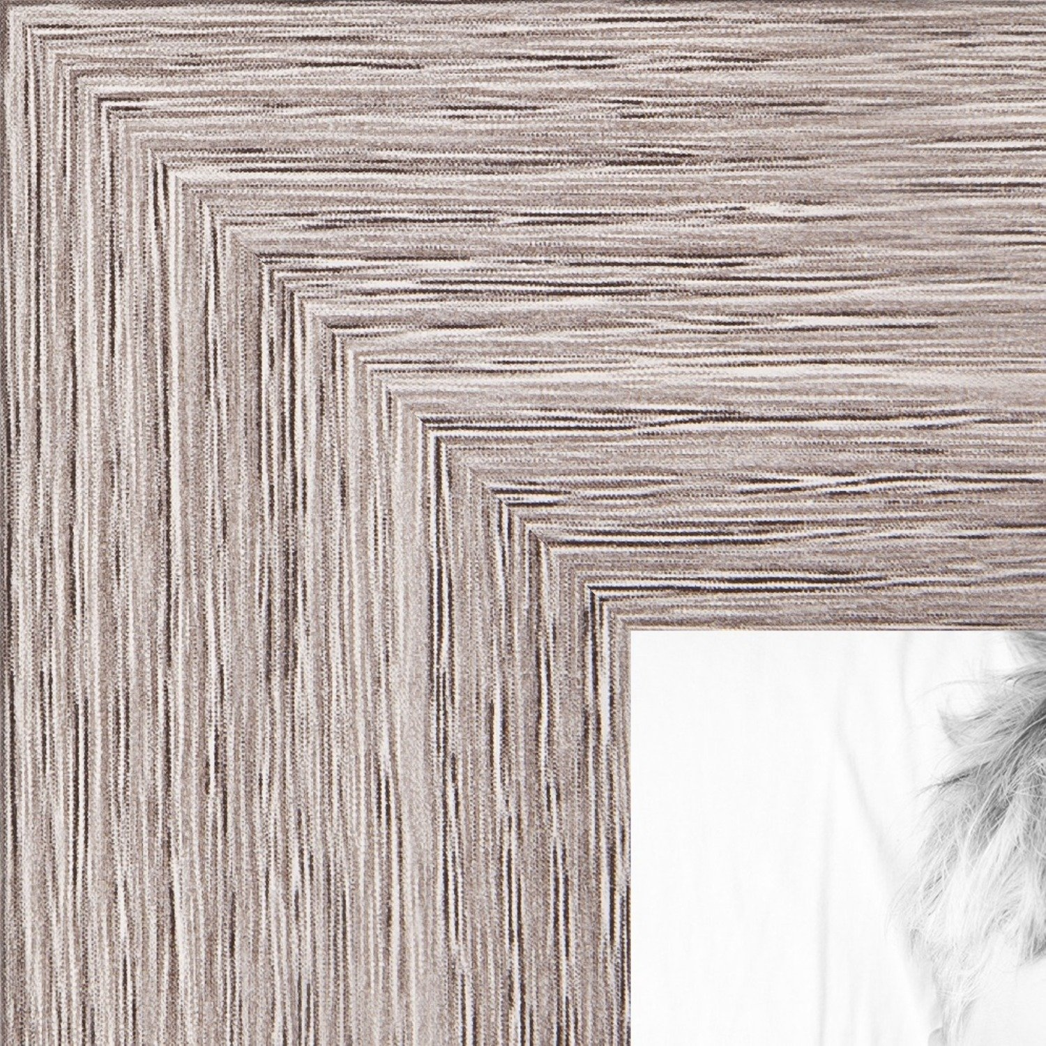 ArtToFrames 12x36 inch  Gray Oak - Barnwood Picture Frame, 2WOM76808-973-12x36 by ArtToFrames (Image #1)