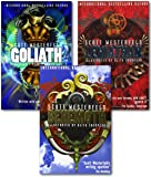 Scott Westerfeld Leviathan Trilogy Collection 3 Books Set Leviathan, Behemoth, Goliath