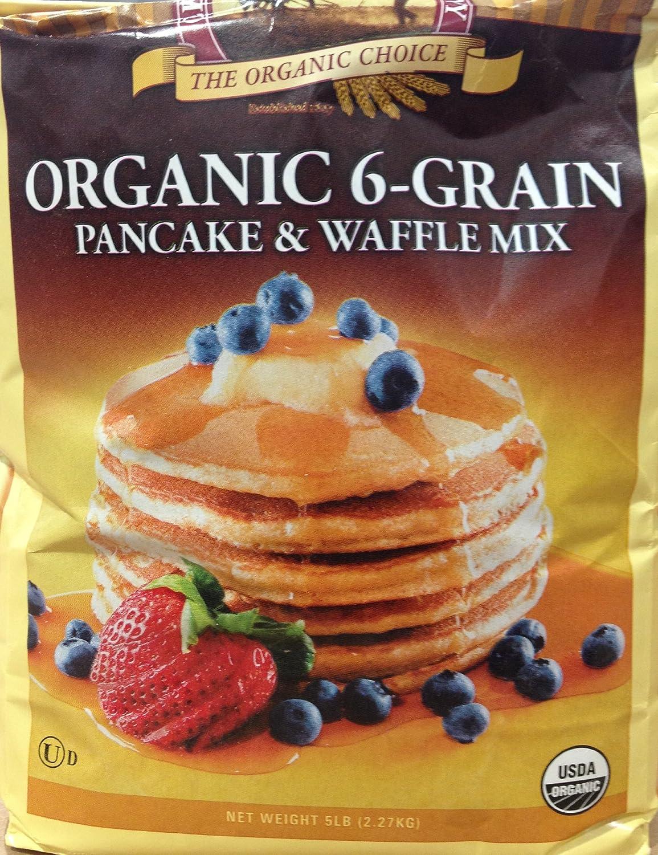 Amazoncom 5 Pounds The Organic Choice Organic 6 Grain Pancake