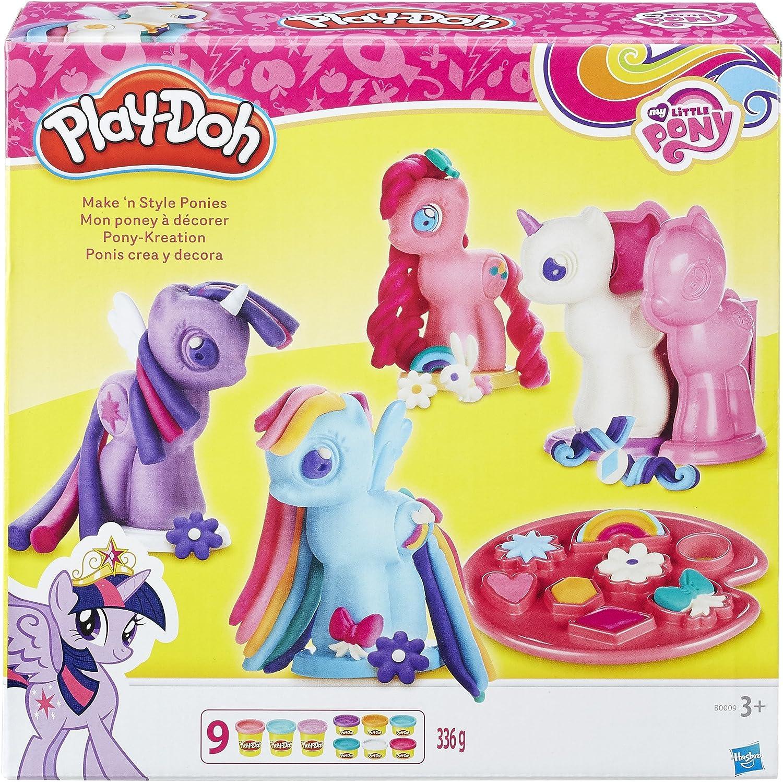 Hasbro Play-Doh My Little Pony Edition Rainbow Dash Mähnenspaß Knete Spielzeug