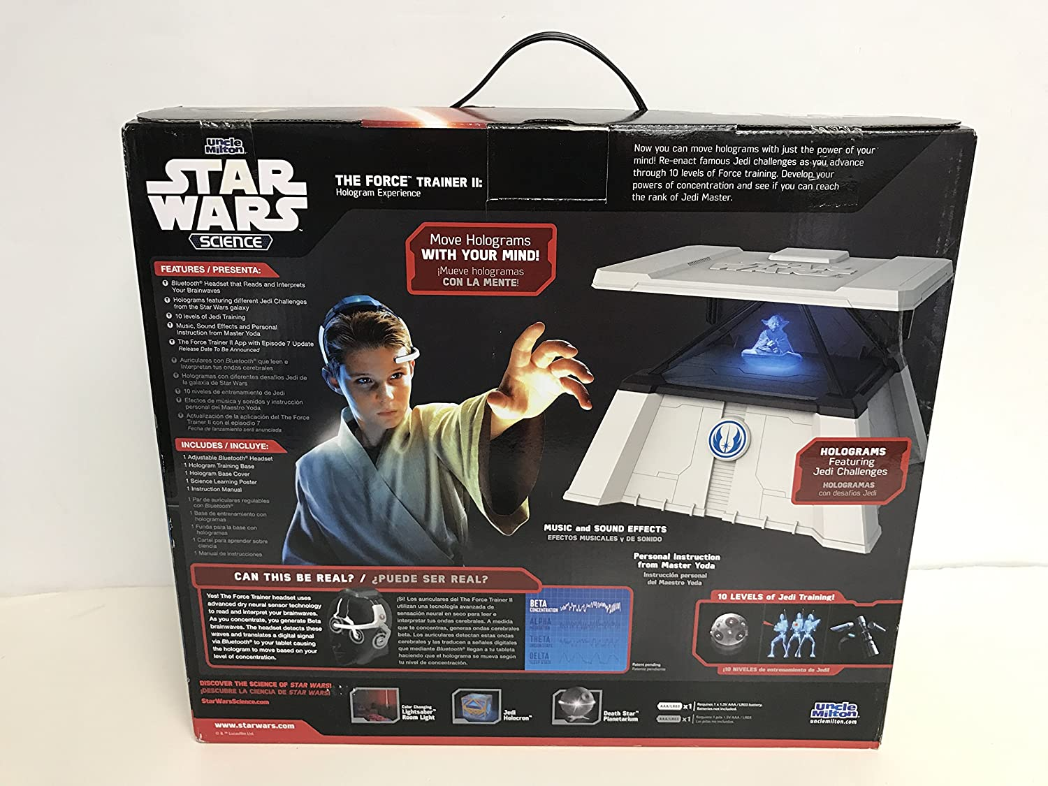 Amazon.com: Force Awakens STAR WARS Science The Force Trainer 2 II ...