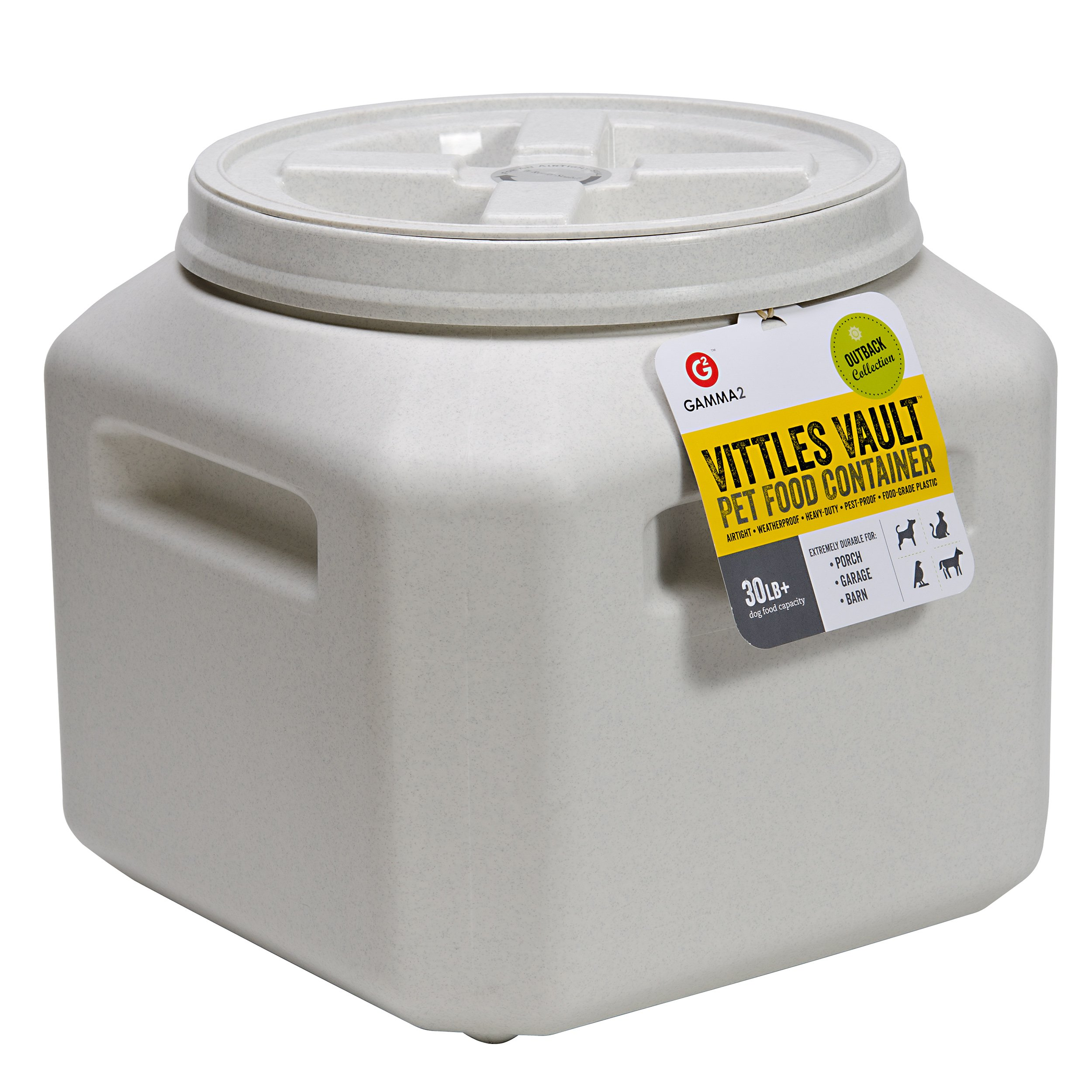 Vittles Vault Stackable Pet Food Container 30-lb capacity