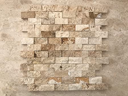 Stone Art Mosaico a spacco in pietra per rivestimento pareti ...