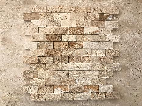 Stone Art Mosaico A Spacco In Pietra Per Rivestimento Pareti Interni