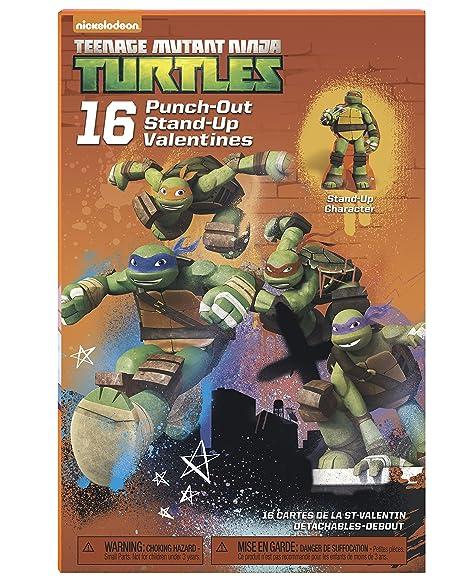 American Greetings Teenage Mutant Ninja Turtles Valentines Day Exchange Cards, 16 Count