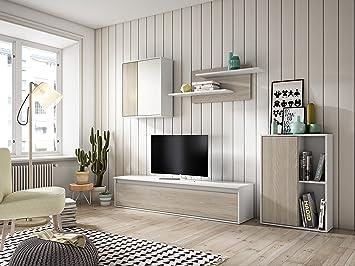 Muebles Place-Salón Comedor Moderno Tex/Mueble TV de 160 cm/Color ...