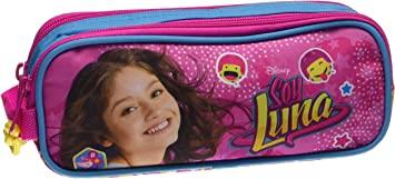 Soy Luna - Estuche portatodo Doble (SAFTA 811626513): Amazon.es: Equipaje